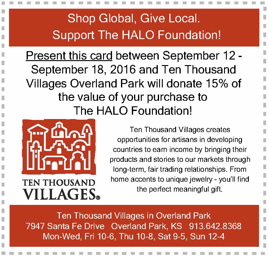 Ten Thousand Villages is a nonprofit, retail organization whose mission is to create opportunities for artisans in developing countries to earn income by bringing their products and stories to our markets through long term, fair trading relationships.